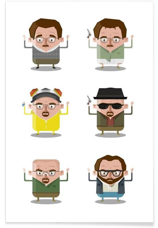 TV Shows, Heisenberg Poster