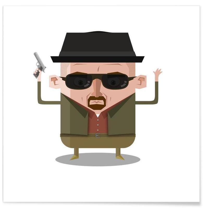 TV Shows, Heisenberg Bad Poster