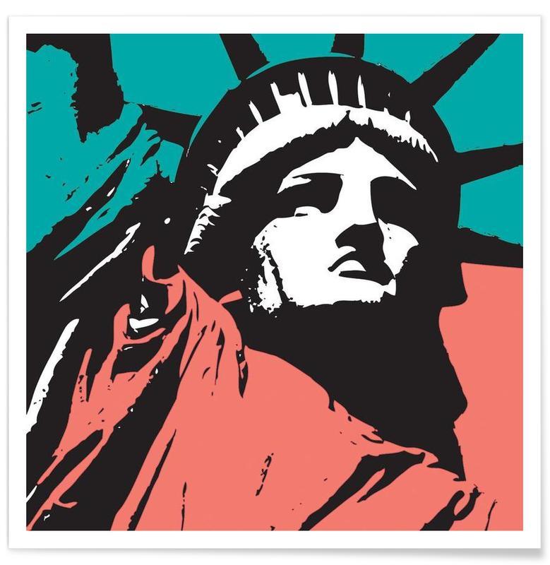 Bezienswaardigheden en monumenten, Liberty 2 poster