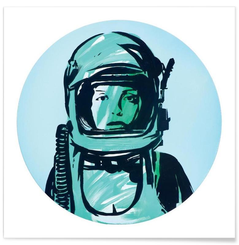 Astronauten, Astronaut poster