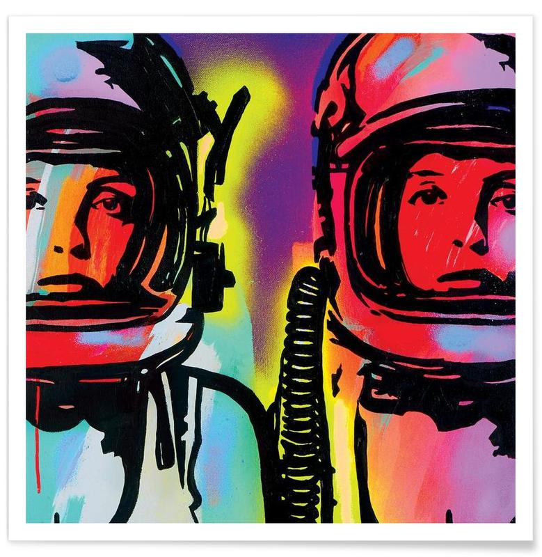 Astronauts, Astronauts Poster