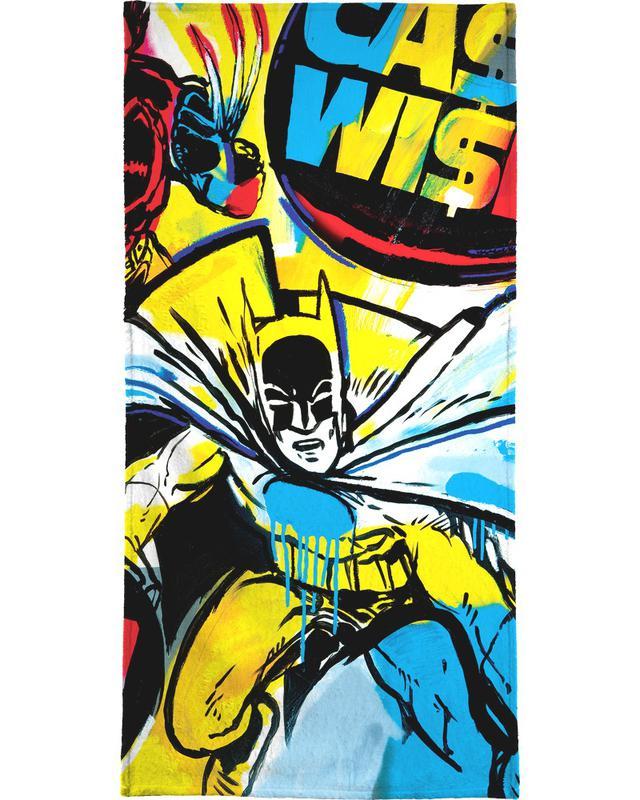 Batman, Popart, Cash Wise handdoek