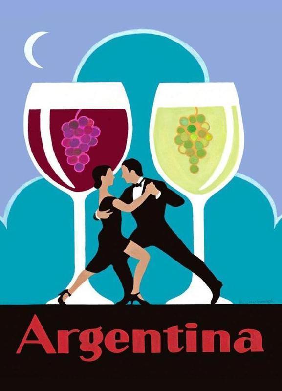 Argentina canvas doek