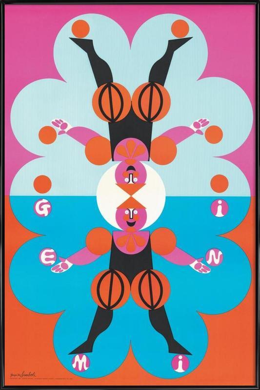 Gemini Framed Poster