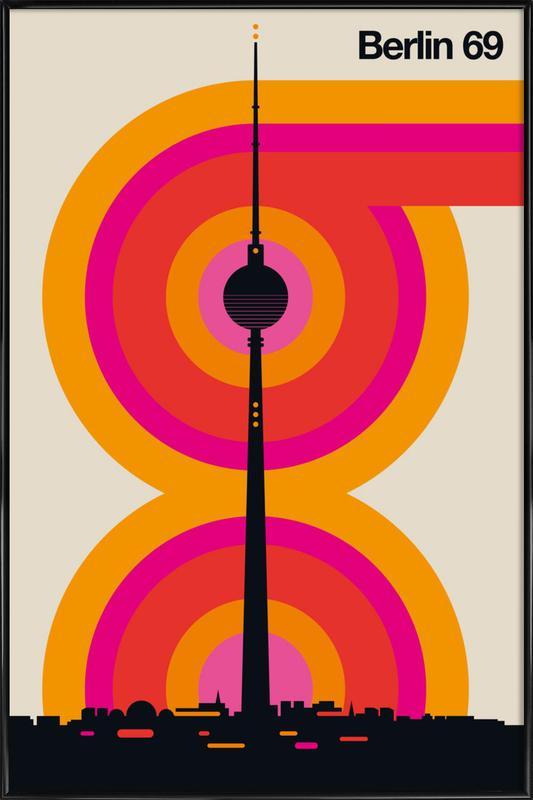 Berlin 69 Poster i standardram