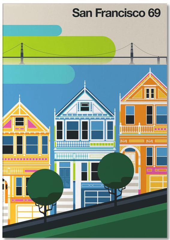 San Francisco, Voyages, San Francisco 69 bloc-notes