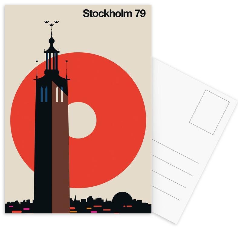 Voyages, Stockholm, Stockholm 79 cartes postales