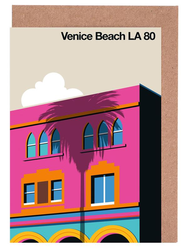 Venice LA 80 -Grußkarten-Set