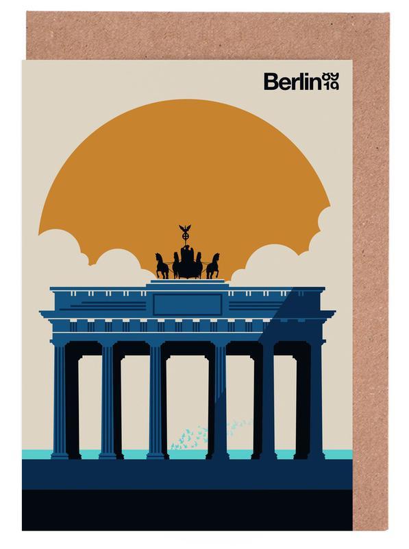 Berlin, Fin Berlin Jubilee 89 19 Greeting Card Set