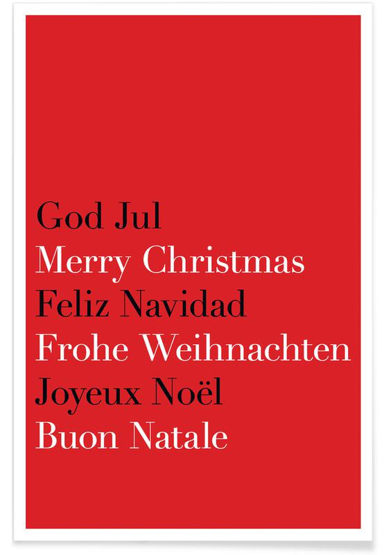 Strict Christmas Greetings -Poster
