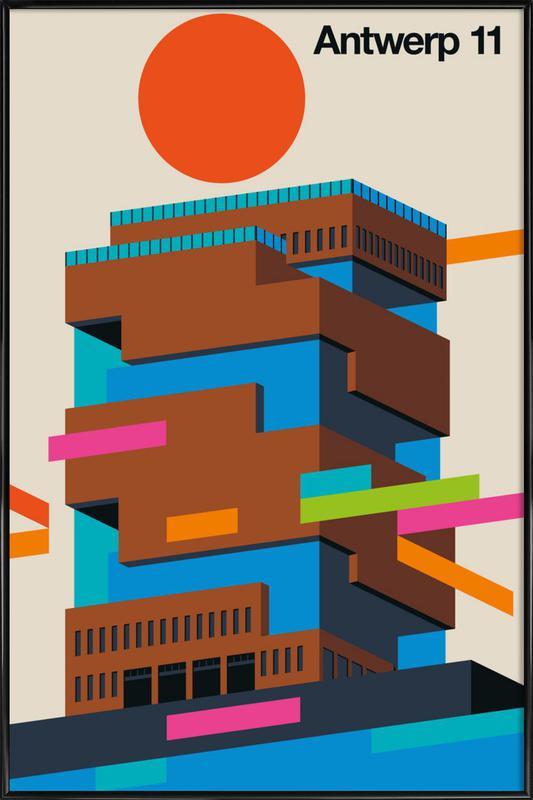Antwerp 11 Framed Poster