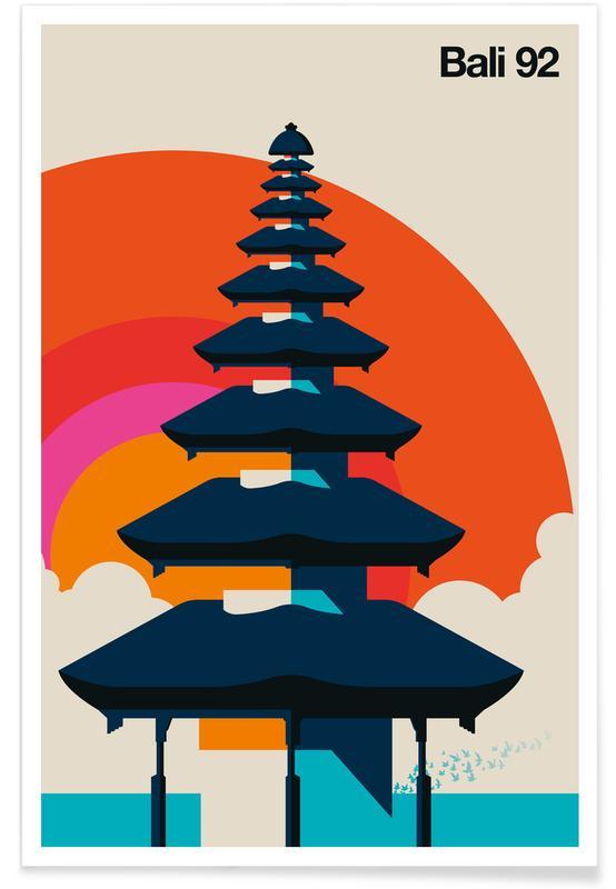 Sehenswürdigkeiten & Wahrzeichen, Bali 92 -Poster