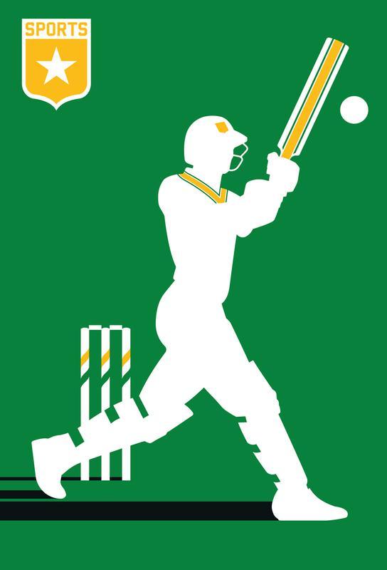 Cricket Aluminium Print