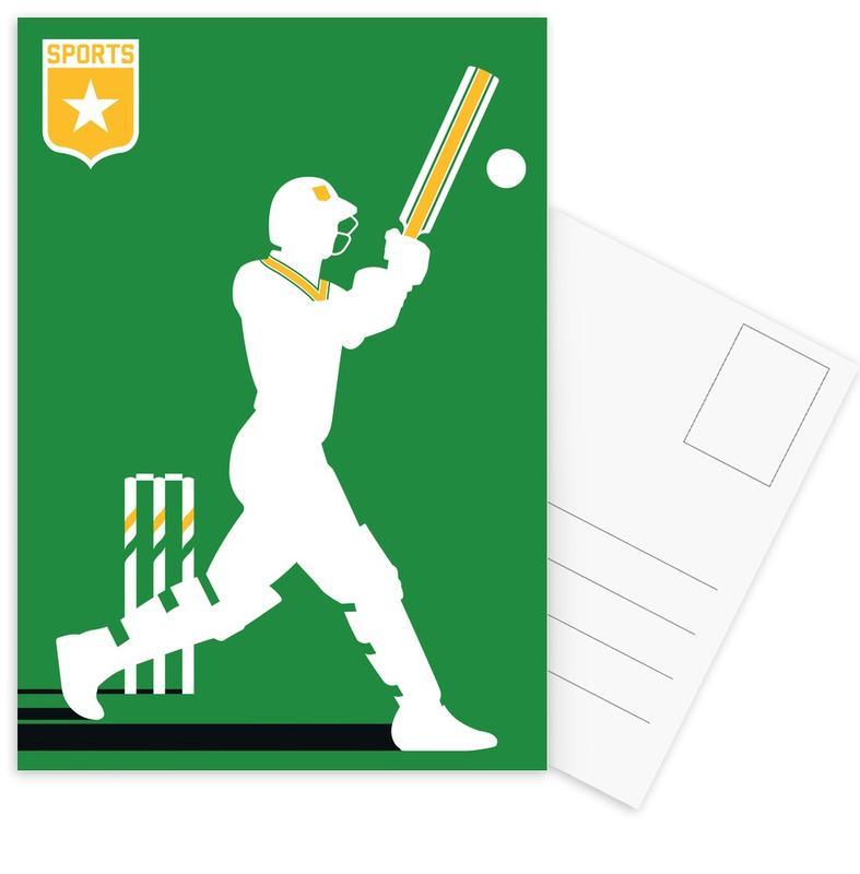 , Cricket Postcard Set