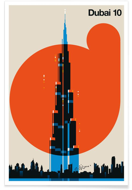 Dubai 10 -Poster