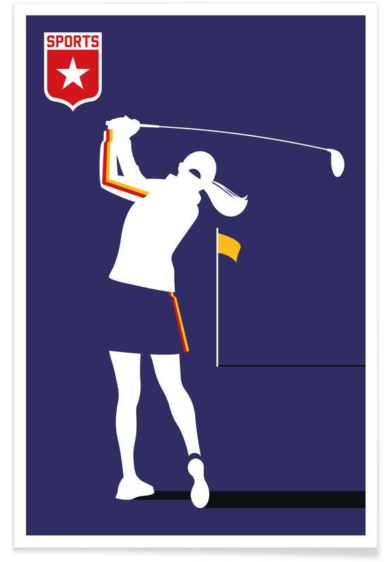 Golf, Golfer 2 affiche