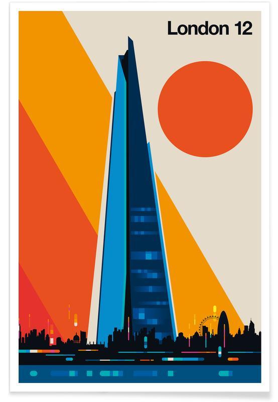 Londen, Bezienswaardigheden en monumenten, London 12 poster