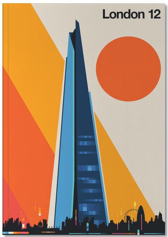 Londen, Bezienswaardigheden en monumenten, London 12 Notebook