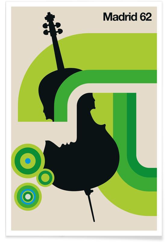Jazz, Madrid, Madrid 62 -Poster
