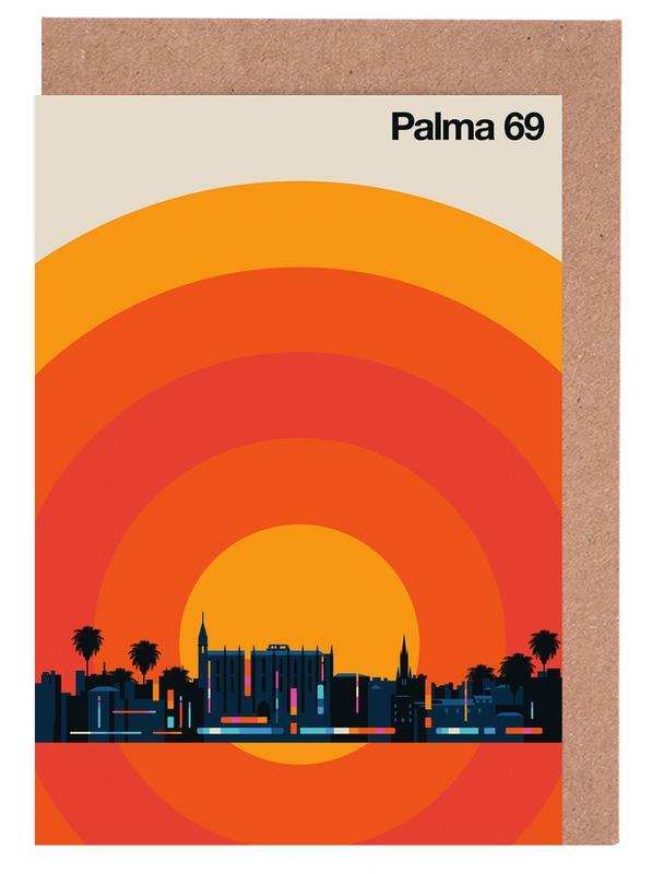 Palma 69 Greeting Card Set