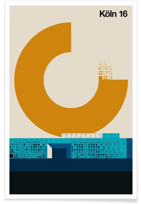 Reise, Köln 16 -Poster