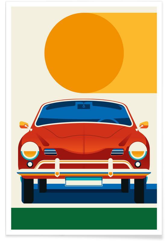 Autos, Karmann Ghia -Poster