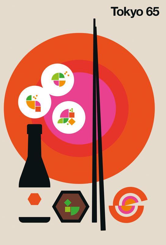 Tokyo 65 Acrylic Print