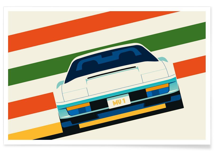 Auto's, Ferrari Front poster