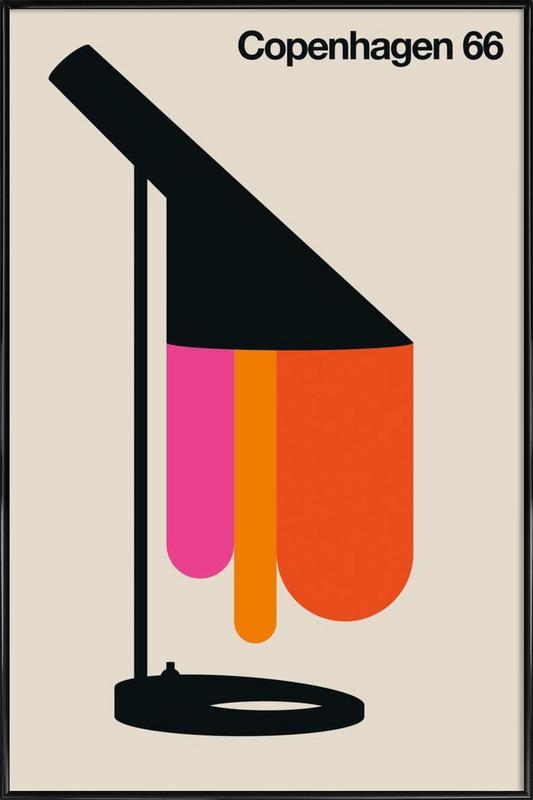 Copenhagen 66 Framed Poster