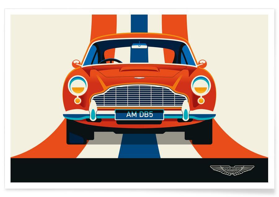 Voitures, Aston Martin affiche