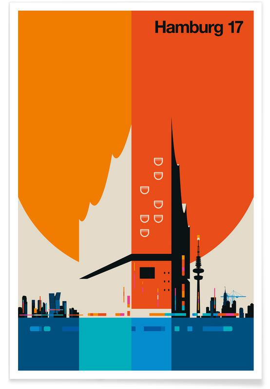 Cars, Hamburg 17 Poster