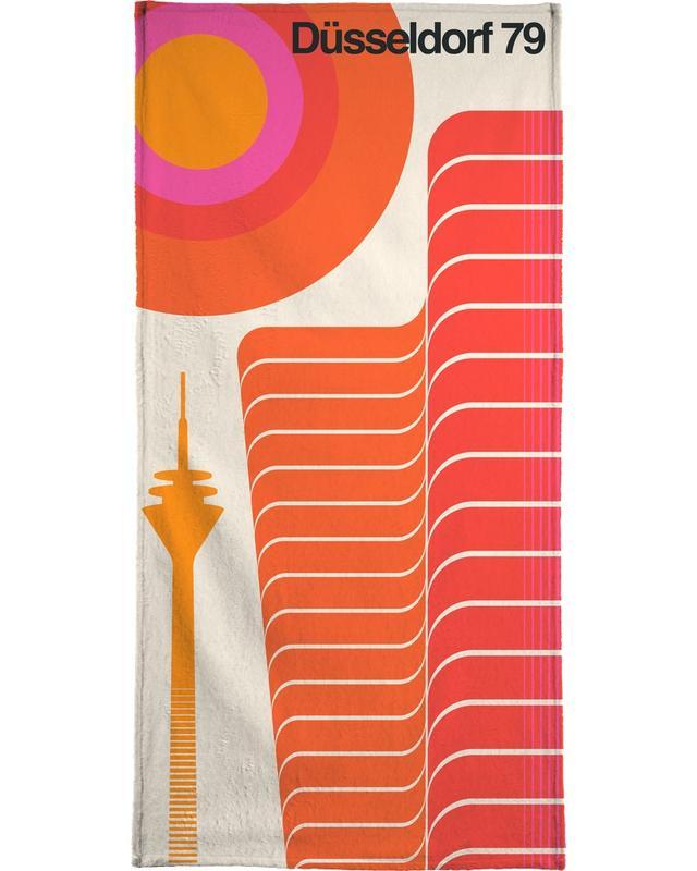 Düsseldorf 79 -Handtuch