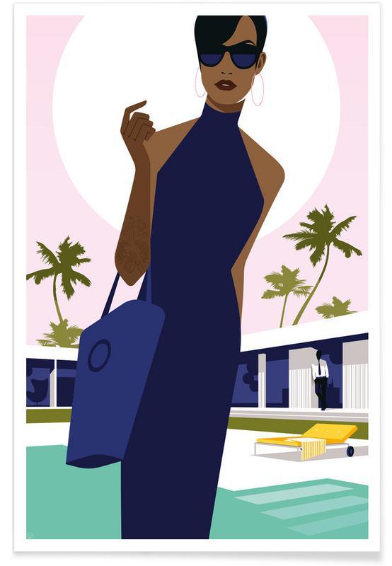 Mode illustrationer, Leaving Home Plakat