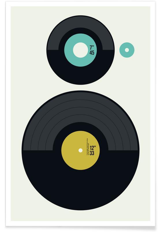 , LP vs. EP poster
