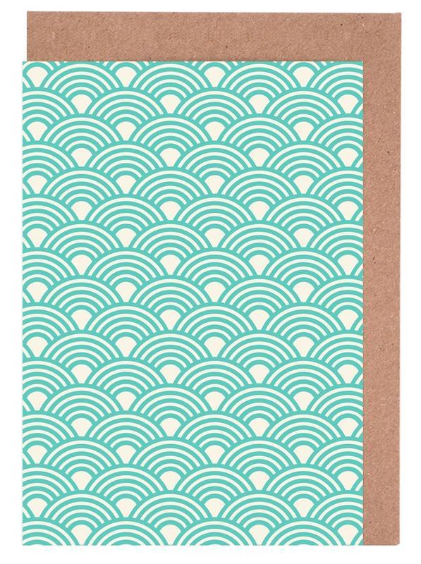 Eastern Waves Light Greeting Card Set