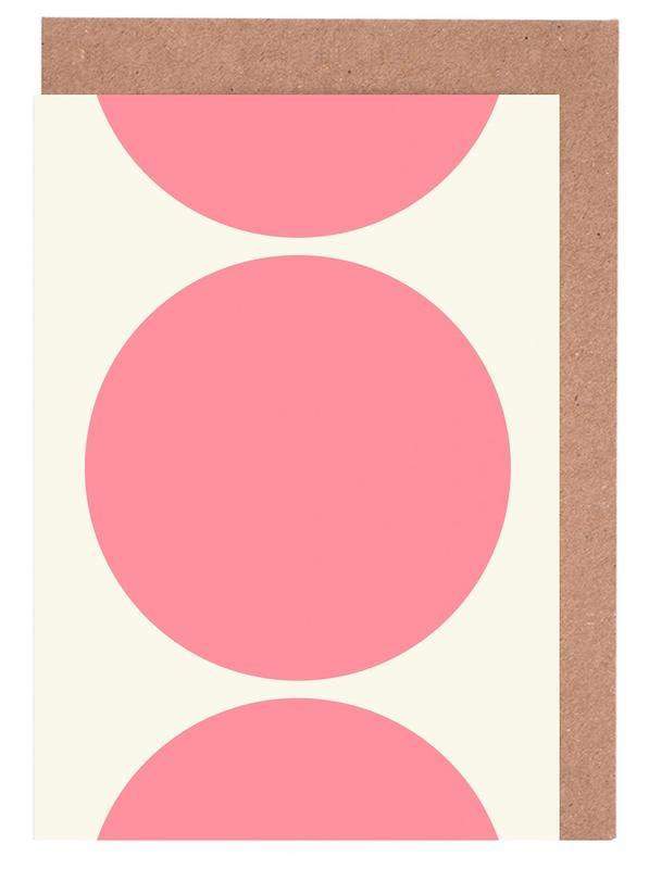 Pink Moon -Grußkarten-Set