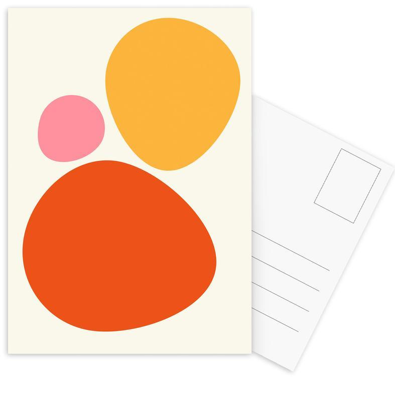 Hot Stones -Postkartenset