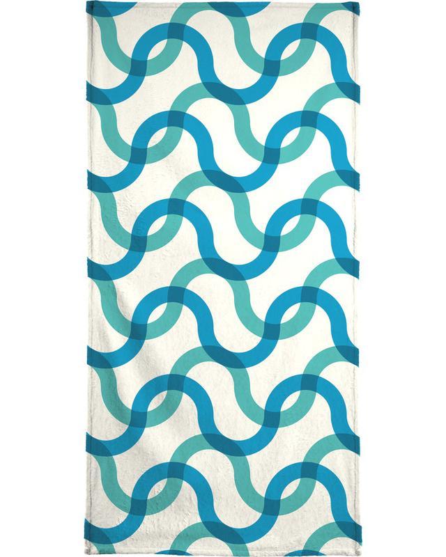 Port de Sóller Beach Towel