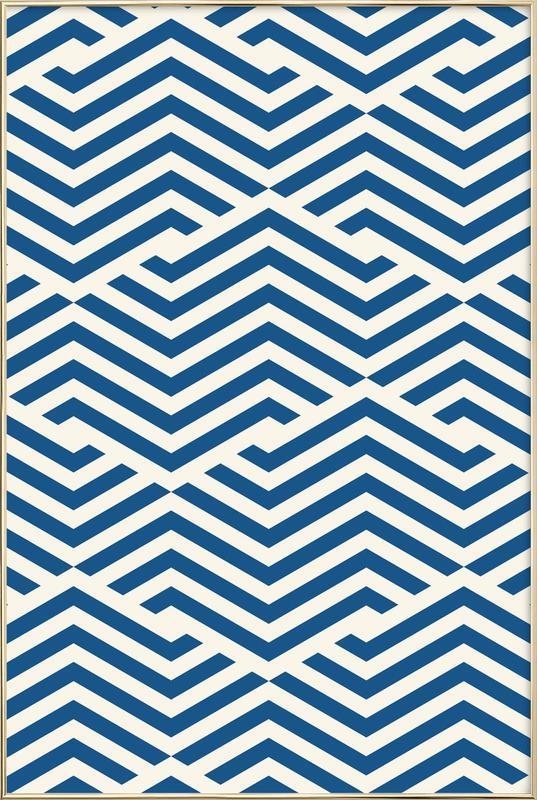 Kavala -Poster im Alurahmen
