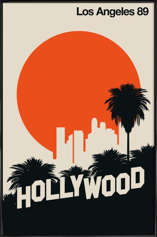 Los Angeles 89 Framed Poster