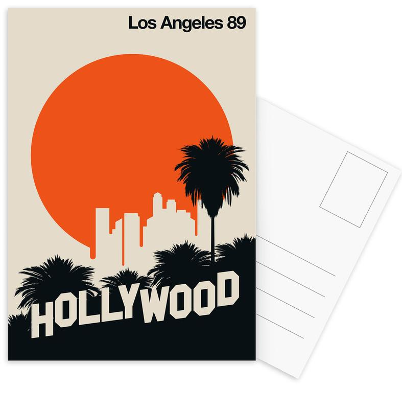 Los Angeles 89 Postcard Set