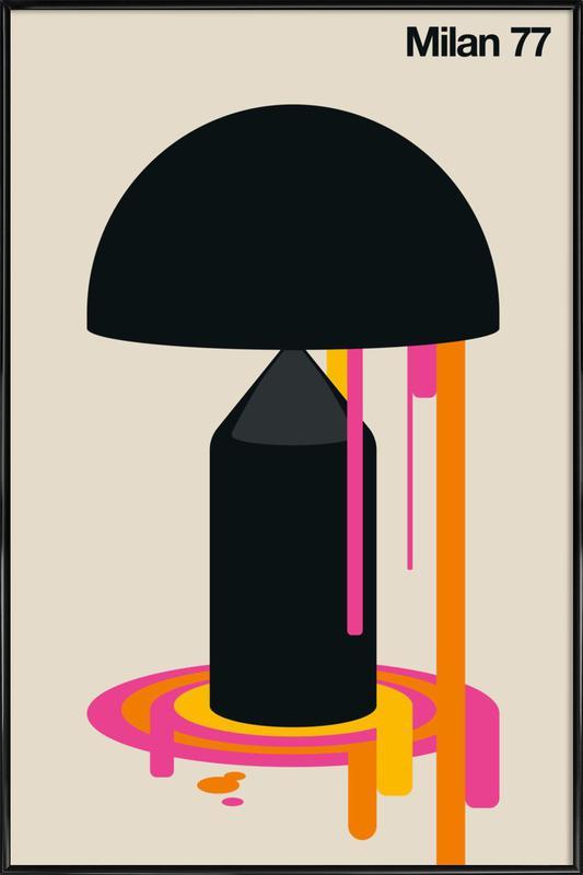 Milan 77 Framed Poster