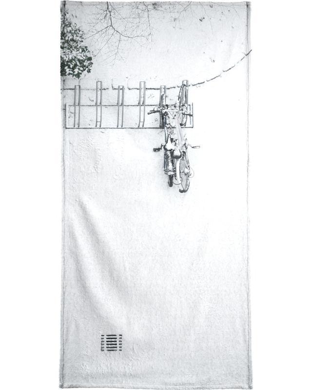 Winter White Bikes -Handtuch
