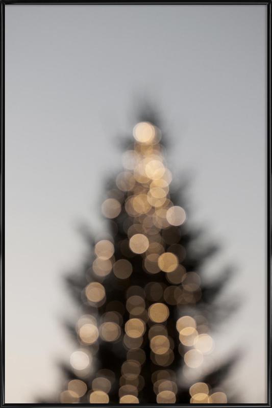 Merry Merry Christmas -Bild mit Kunststoffrahmen