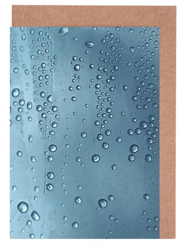 Architekturdetails, Ozeane, Meere & Seen, Water Bubbles -Grußkarten-Set
