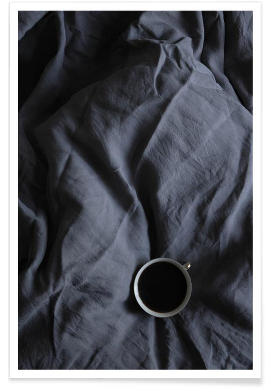 Café, Coffee Time In Bed- Me & You affiche