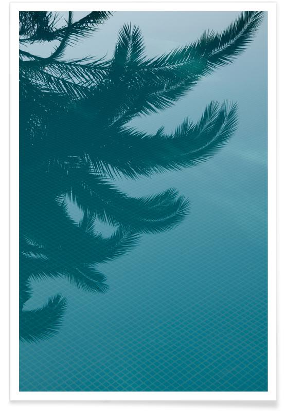 Palms In The Pool Poster