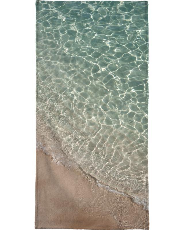 Océans, mers & lacs, Where Sand and Water Meet serviette de plage