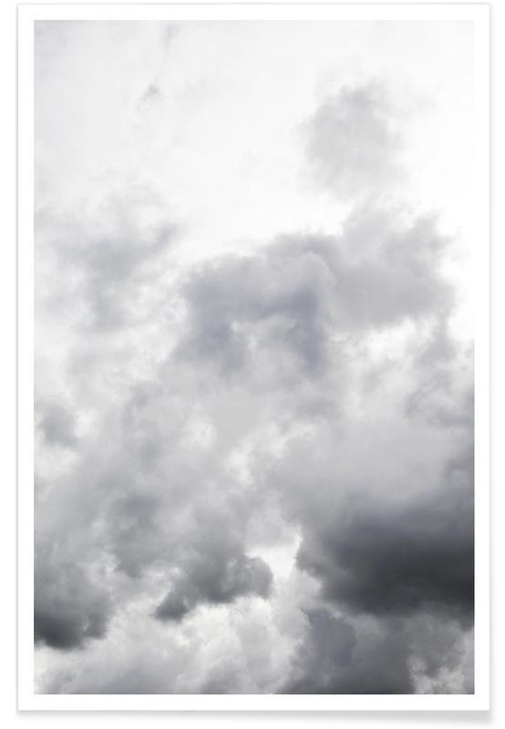Noir & blanc, Ciels & nuages, Head In The Clouds affiche