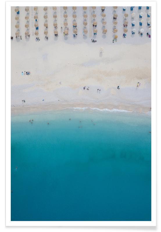 Beachlife. Icecream & Sunshine Poster
